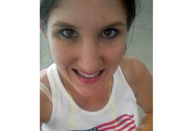 Alexis Somerford in a Facebook selfie.