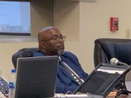 Bunnell City Manager Alvin Jackson is not in the most comfortable position. (© FlaglerLive)