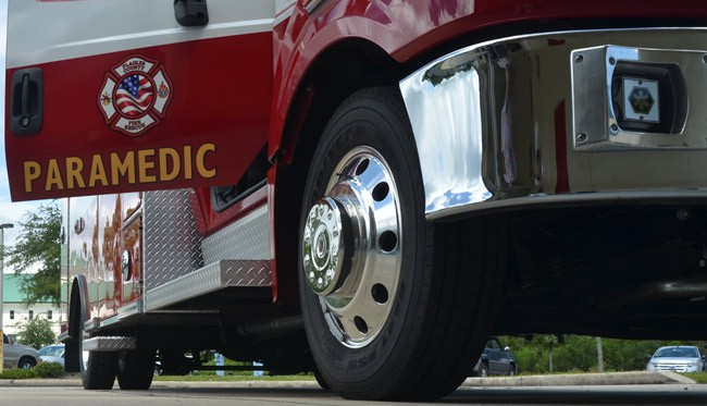 palm coats ambulances flagler county