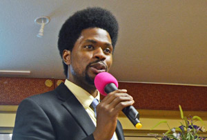 Amir Whitaker of the Southern Poverty Law Center.