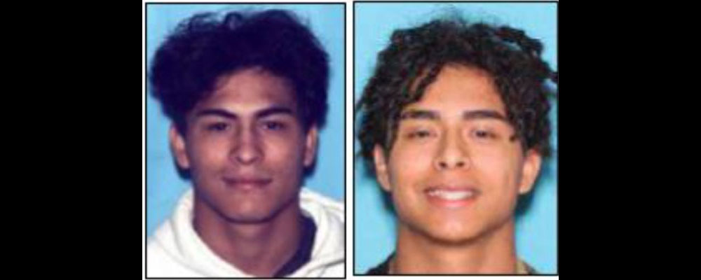 Police are looking for Angel Lobato, 18, left, and his brother JoJo Lobato, in connection with the murder of a man who'd been reported missing in Polk County on Nov. 4.