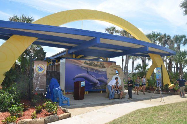 marineland arch.