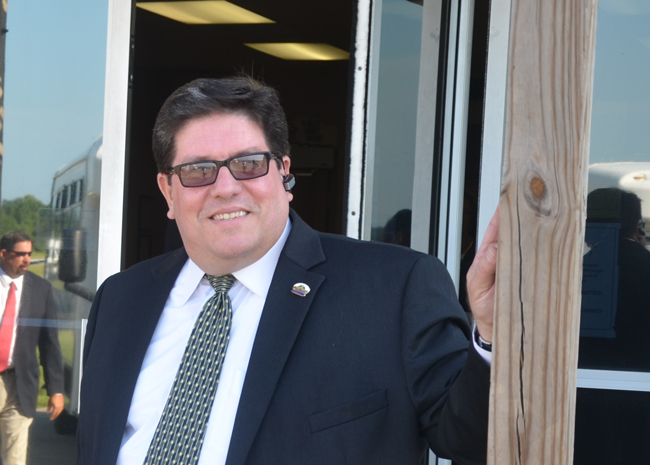 Bunnell City Manager Armando Martinez is again on the firing line. (© FlaglerLive)