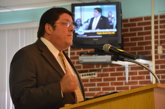 City Manager Armando Martinez is again looking to bail from Bunnell. (© FlaglerLive)