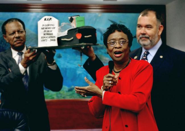 Sen. Arthenia Joyner could see the coming demise of public education in Florida as far back as 2003. (Mark Foley)