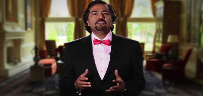 Dr. Asad Qamar in a YouTube still.