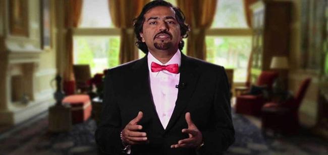 Dr. Asad Qamar in a YouTube still.