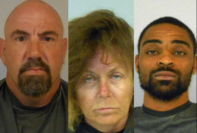 Frederick Hyatt, Annette Maria Walters-Whitney and Ernest Singleton. assault charges