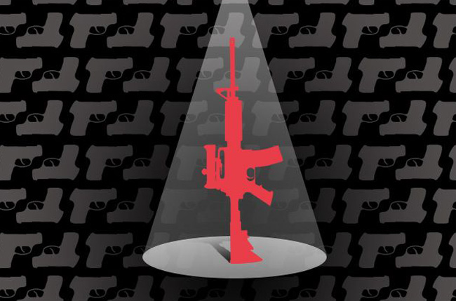 On the twentieth anniversary of the assault weapons ban,  politicians and the public continue to support a policy that showed no evidence of saving lives. (David Sleight/ProPublica)