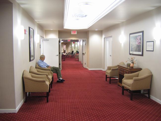 America's most sorrowful waiting rooms. (Kio Stark)