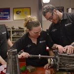 The apprenticeship is expected to deliver approximately 2,650 hours of employer-based training through a combination of direct on-the-job training and one-on-one mentorship provided by qualified senior employees of Daytona Toyota. (DSC)