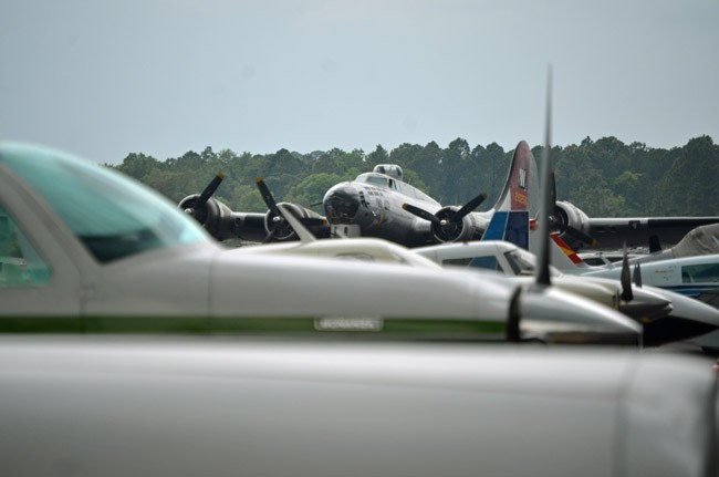 All planes, all the time at Wings Over Flagler Rockin the Runways this weekend. (© FlaglerLive)