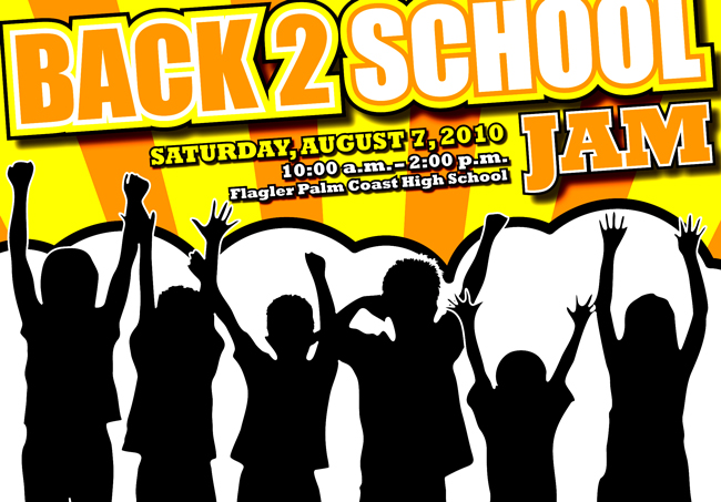 back to school jam free backpacks school supplies flagler county schools august 7 2010