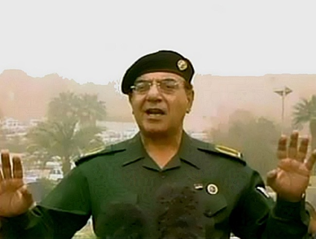 Brian Williams baghdad bob.