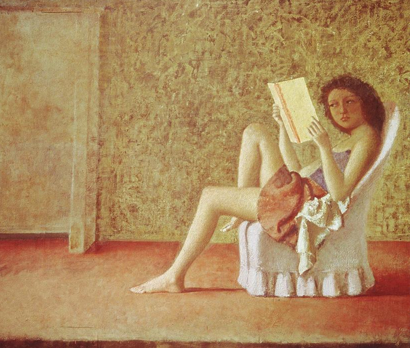 Balthus katia reading