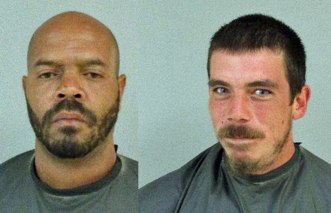 Anthony Banks, left, and Jarret Register.