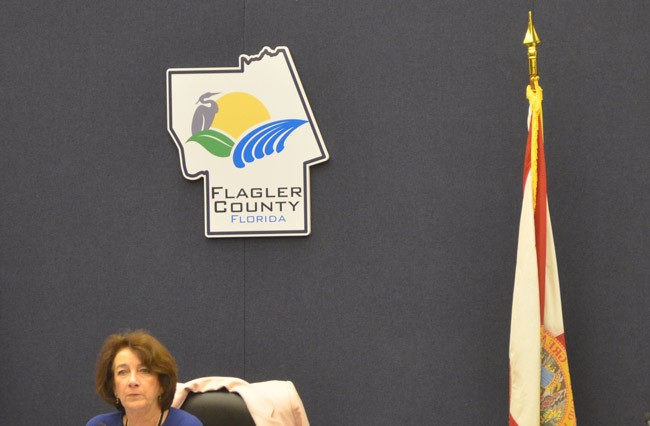 Barbara Revels is in her seventh year on the Flagler County Commission. She was reelected without opposition in 2012. (© FlaglerLive)