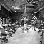 What used to be: a barber shop in Tampa in 1920. (William Arthur Fishbaugh, Florida Memory)