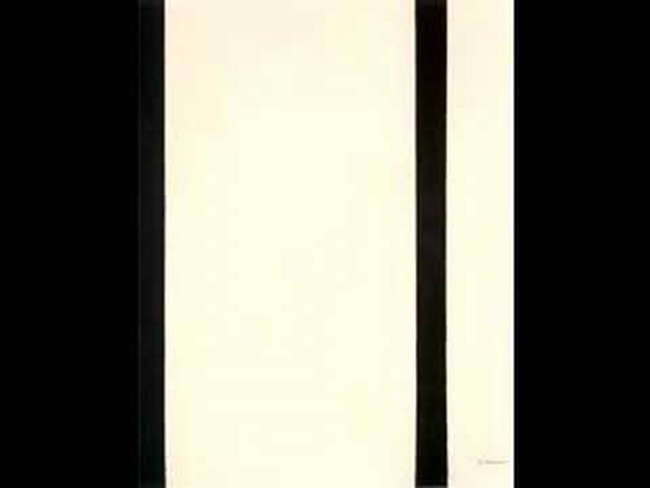 Barnett Newman's 'Stations of the Cross.'