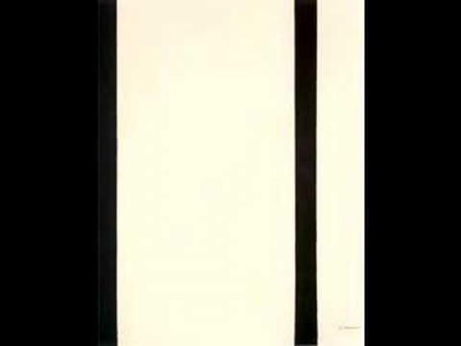 Barnett Newman's 'Stations of the Cross.'