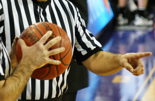 """Local basketball referee Marion """"Al Jennings, 66, of A-1 Officials Association, is accused of inappropriately touching a 14-year-old girl during a game. A-1's referees are dressed somewhat differently than the referees shown in the generic image above. (Harris Walker)"""