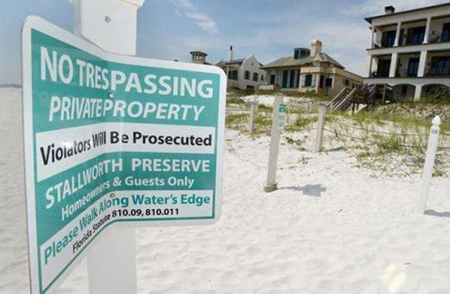 beach prohibitions