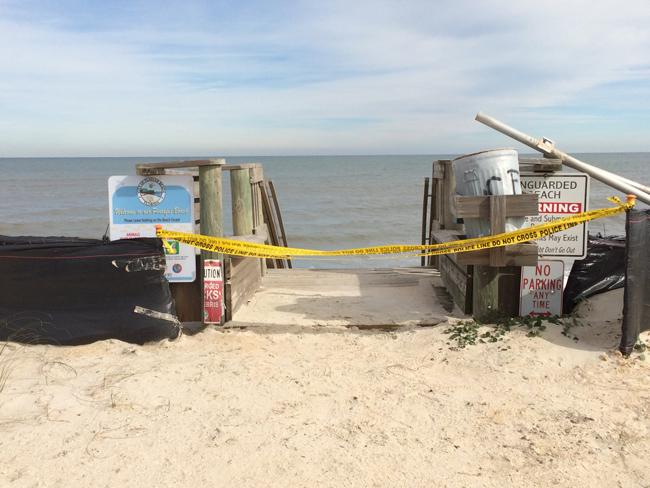 beach erosion chad boda