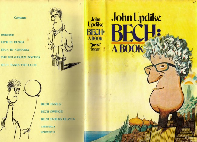 'Bech: A Book,' the first edition's dust jacket.