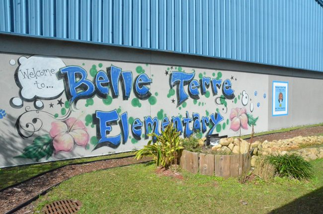 The investigation involved the case of a special education child at Belle Terre Elementary. (© FlaglerLive)