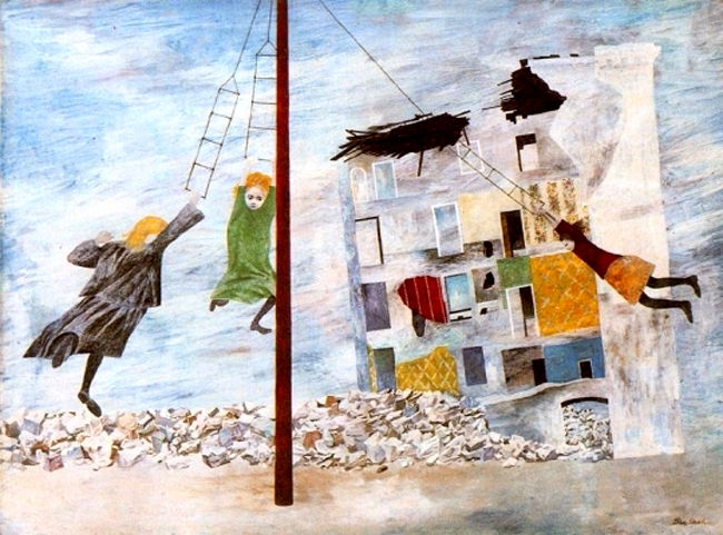 Ben shahn liberation children world war ii