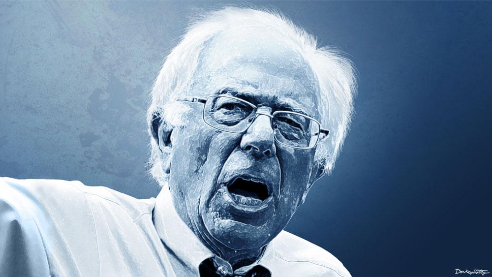 Bernie Sanders socialism by DonkeyHotey.