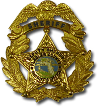 flagler county sheriff's office police badge