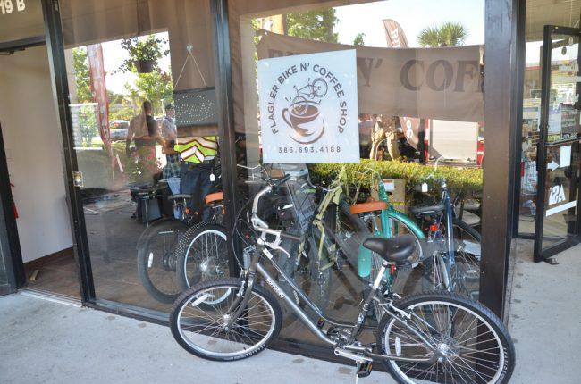 bike and coffee shop