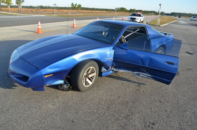 The 1991 Pontiac Firebird. Click on the image for larger view. (© FlaglerLive)