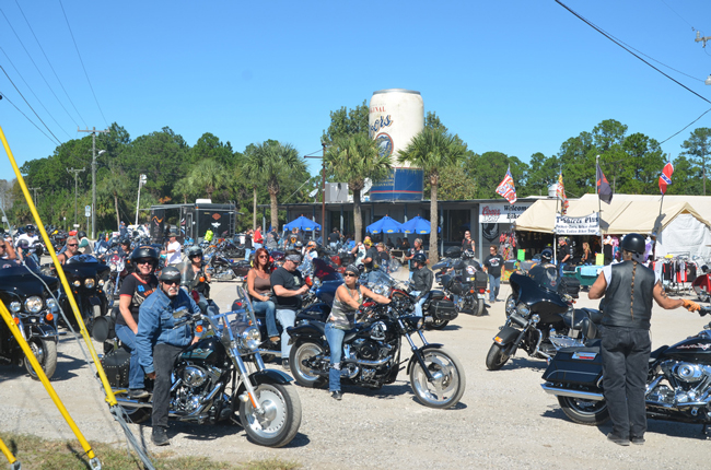 It must be Bike Week again in Flagler, and of course Volusia. (c FlaglerLive)