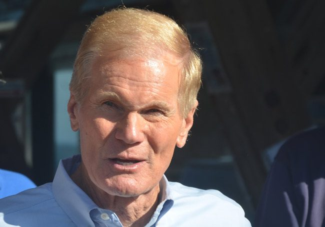 Bill nelson lands a powerful Puerto Rican endorsement. (© FlaglerLive)