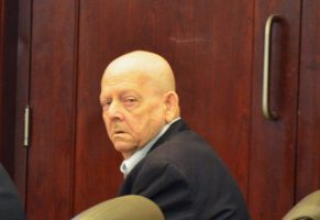 Thomas Binkley immediately after hearing the verdict before noon today in Flagler County Circuit Court. (c FlaglerLive)