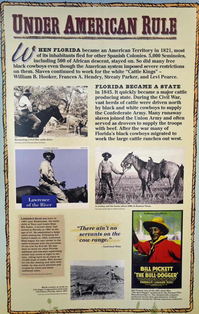 florida black cowboys exhibit