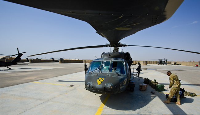 Black Hawk Up: Sikorski's attack helicopters are among the items that may now be subject to fewer export restrictions. (Sgt. Felix Acevedo)