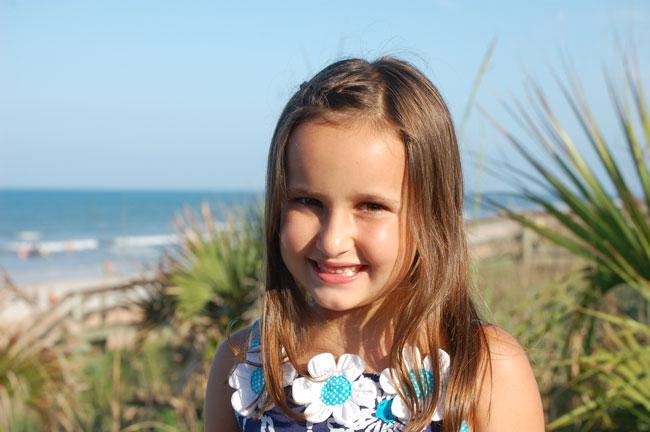 Hannah Blevins - Little Miss Flagler County 2010
