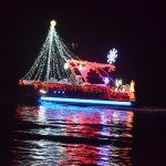 A boat in last year's parade. (© FlaglerLive)