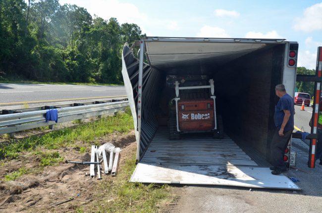 bobcat truck wreck