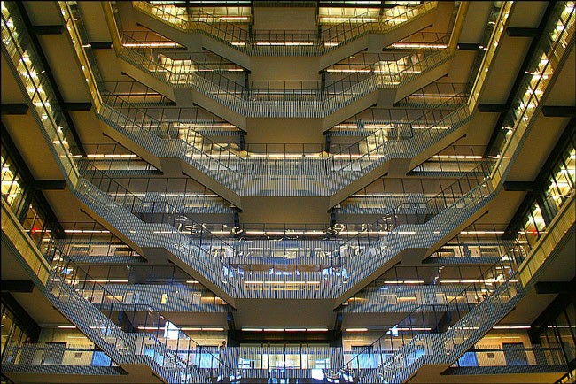 Bobst Library at New York University.