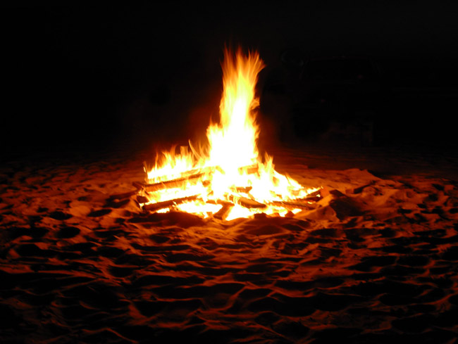 Beach Bonfire Embers Still Crackling in Flagler Beach as 2 ...