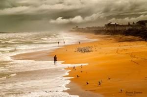 Bonnie Siamon's 'Beach in Fog.'