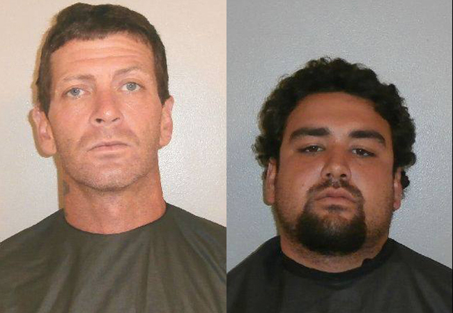 Charles Massey, left, and Justin Boyles each face a first-degree murder charge.