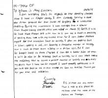 brandon moon letter