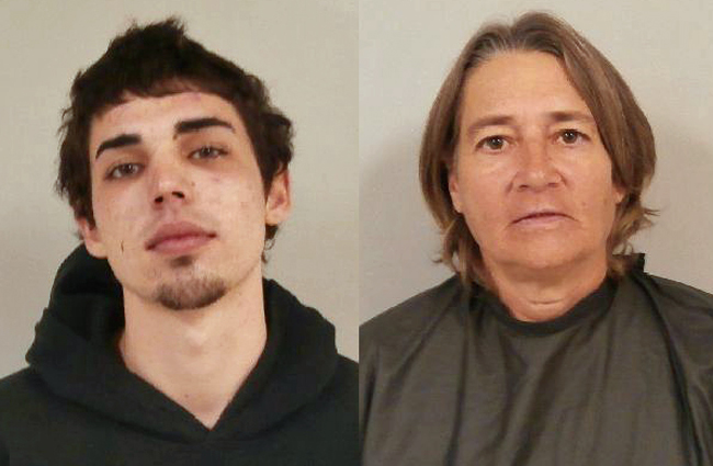 Dakota Walls, left, and Karen Breen, are both charged with battery on a person over 65 in two separate incidents over the weekend. The charge is a third-degree felony.