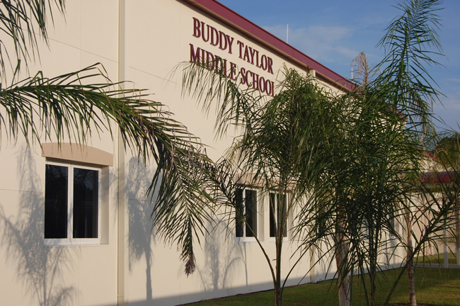 buddy taylor middle school renovated