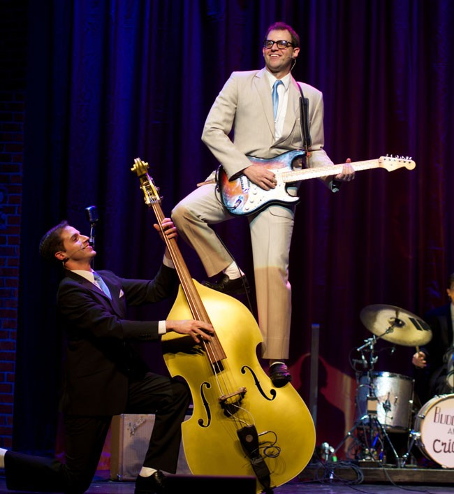 stars in the Buddy Holly Story at the Flagler Auditorium Friday.